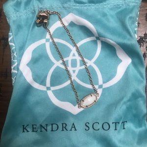 Kendra Scott rose gold/pearl stone bracelet